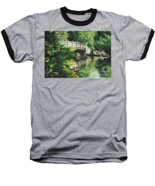 Concord River Bridge Baseball T-Shirt