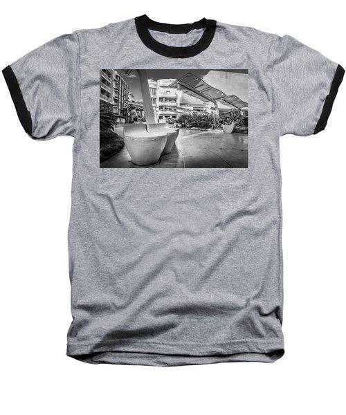Concrete Seats. Baseball T-Shirt