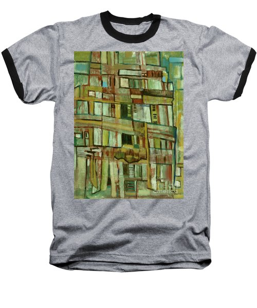 Baseball T-Shirt featuring the painting Condo by Paul McKey