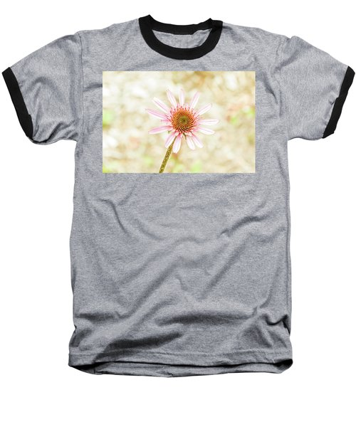 Cone Flower Baseball T-Shirt by Jay Stockhaus