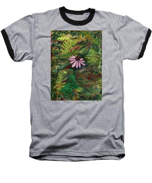 Coneflower Baseball T-Shirt by FT McKinstry