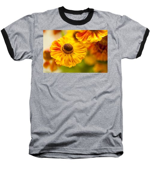 Baseball T-Shirt featuring the photograph Coneflower Macro by Jenny Rainbow