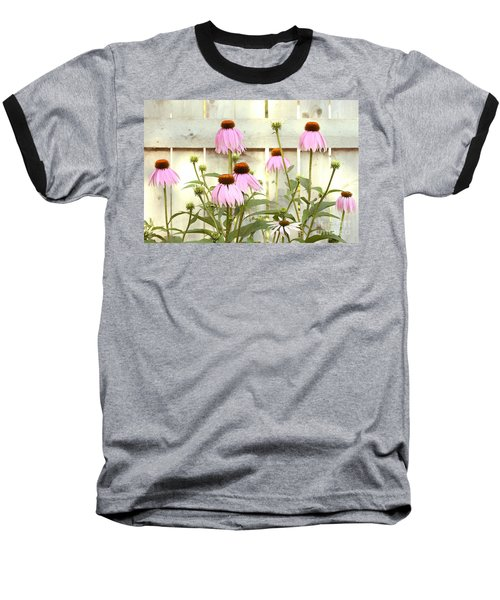 Coneflower Patch Baseball T-Shirt