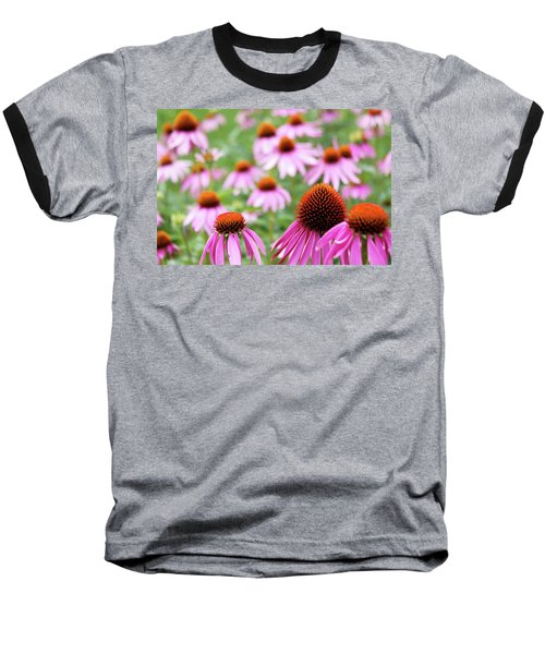Baseball T-Shirt featuring the photograph Coneflowers by David Chandler