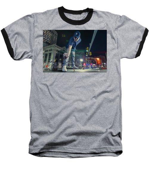 Baseball T-Shirt featuring the photograph Coney Anyone? by Nicholas Grunas