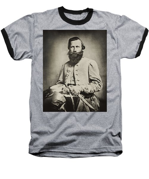 Confederate Jeb Stuart Baseball T-Shirt by Paul W Faust -  Impressions of Light