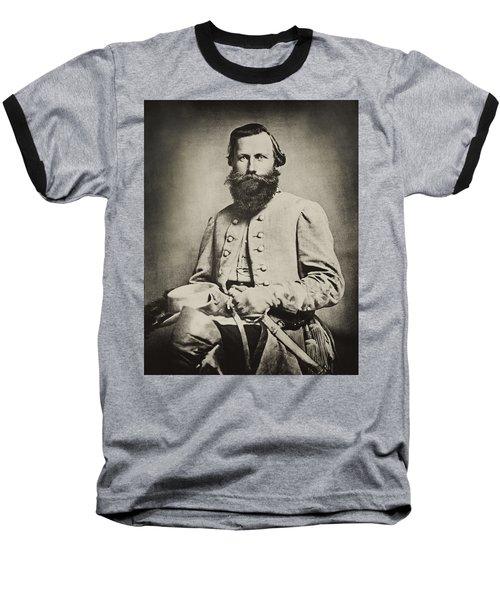 Confederate Jeb Stuart Baseball T-Shirt