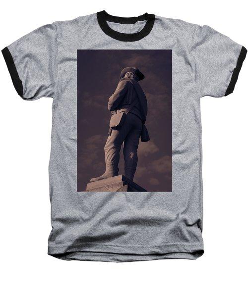 Confederate Statue Baseball T-Shirt