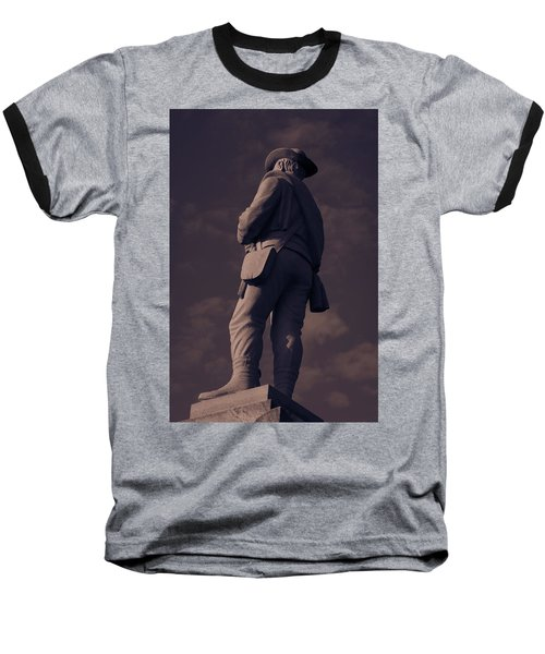 Confederate Statue Baseball T-Shirt