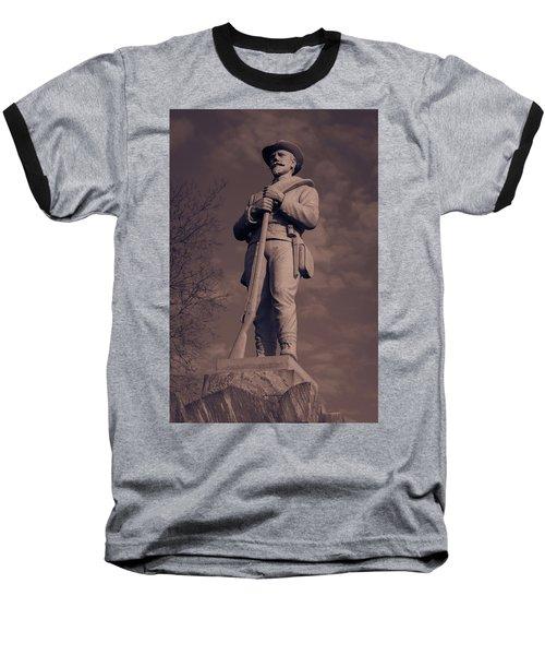 Confederate Statue  Standing Guard Baseball T-Shirt