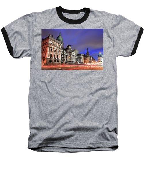 Baseball T-Shirt featuring the photograph Congress  by Bernardo Galmarini