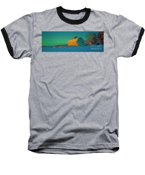 Conley Rd White Barn Baseball T-Shirt