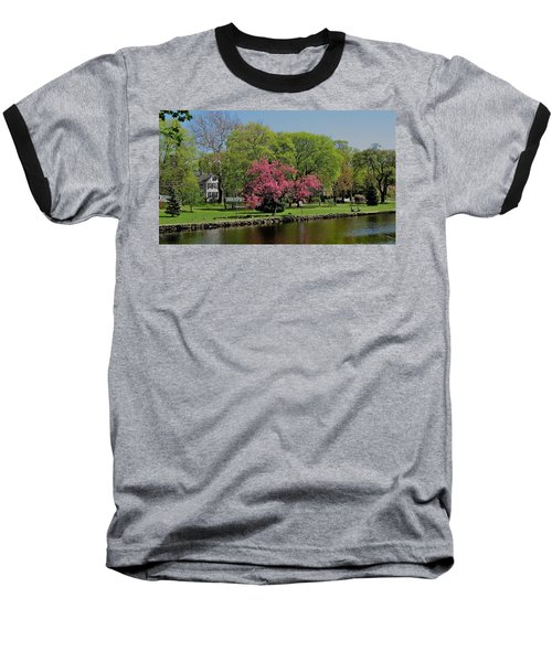Connecticut Baseball T-Shirt by John Scates