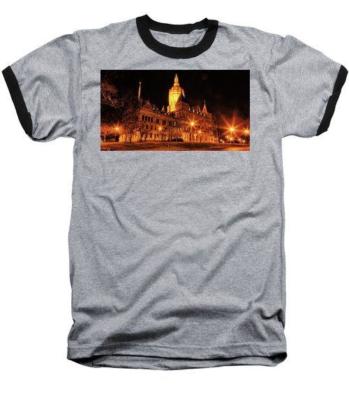 Connecticut State Capitol Baseball T-Shirt