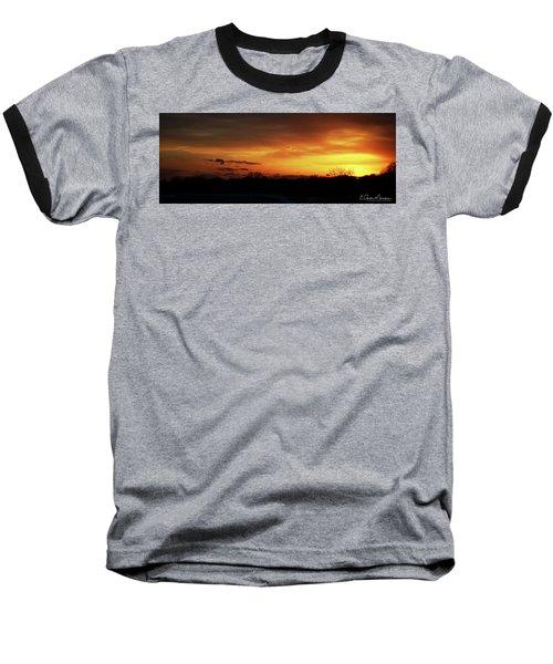 Connecticut Sunset Baseball T-Shirt