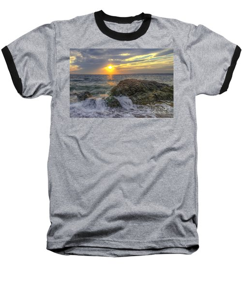 Connecticut Sunset Baseball T-Shirt