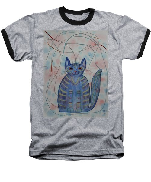 Connection Cat  Baseball T-Shirt