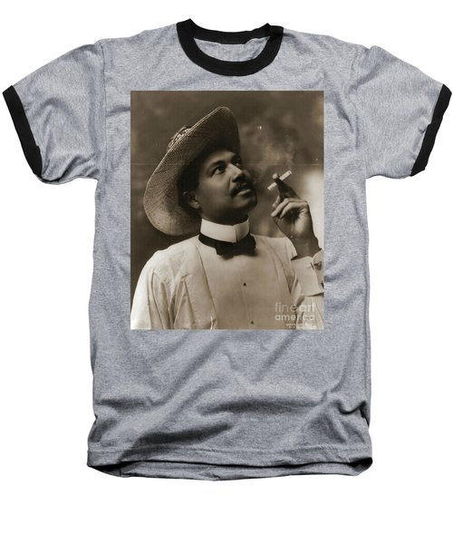 Baseball T-Shirt featuring the photograph Connoisseur 1899 by Padre Art
