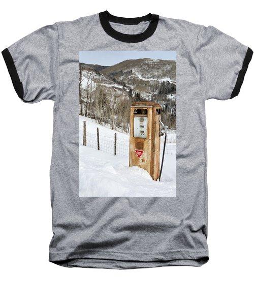 Conoco In The Snow Baseball T-Shirt
