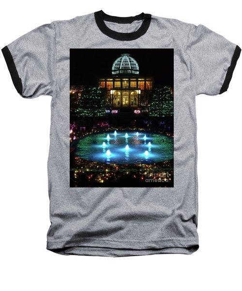 Conservatory At Night Baseball T-Shirt