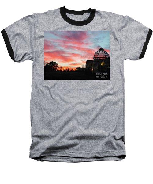 Conservatory At Sunset Baseball T-Shirt