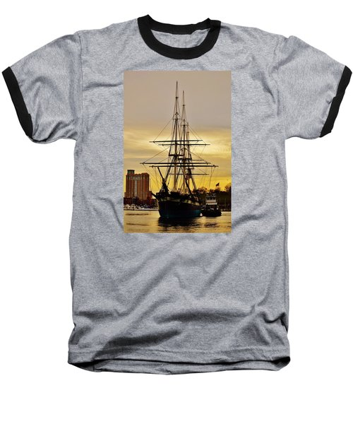 Constellation Gold Baseball T-Shirt by William Bartholomew
