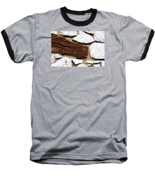 Constriction Baseball T-Shirt by Leo Symon