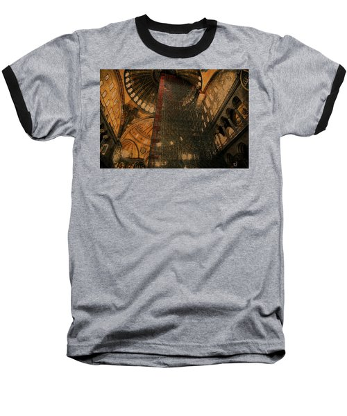 Baseball T-Shirt featuring the photograph Construction - Hagia Sophia by Jim Vance