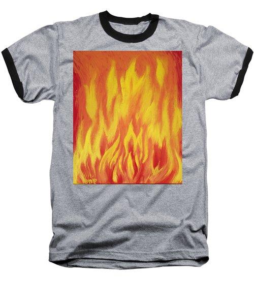 Consuming Fire Baseball T-Shirt
