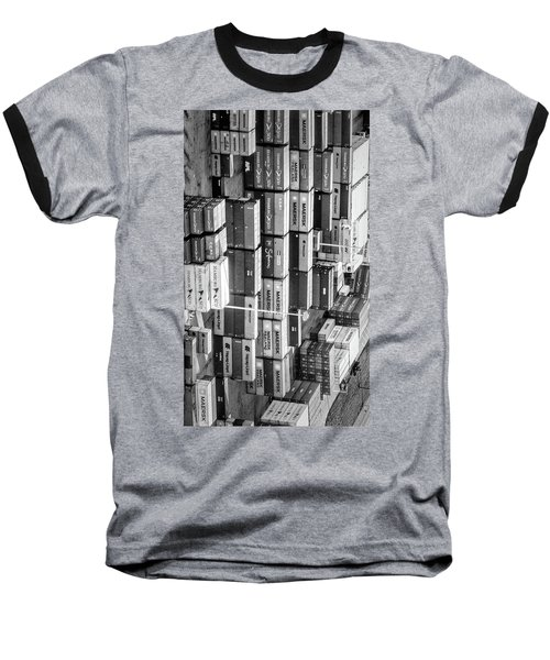 Container Library Baseball T-Shirt
