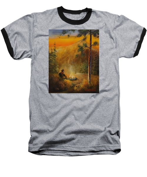 Contemplating The Journey Baseball T-Shirt