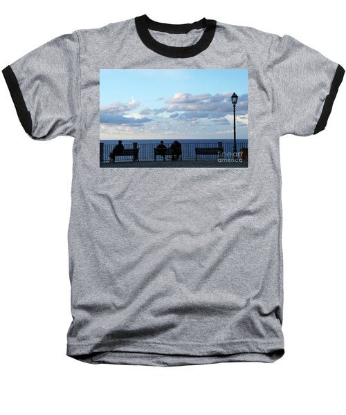 Contemplation Baseball T-Shirt by Ana Mireles