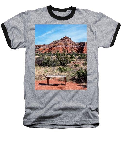 Contemplation Bench Baseball T-Shirt