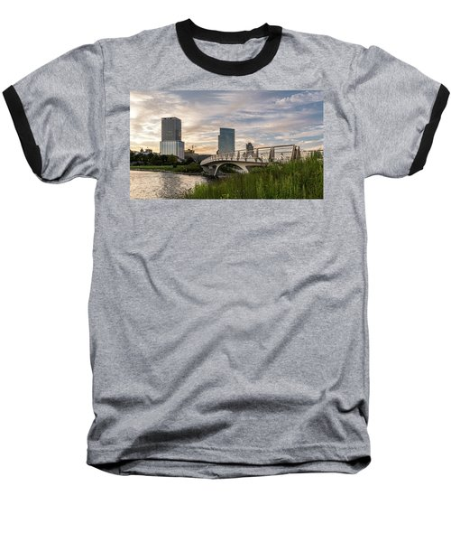 Baseball T-Shirt featuring the photograph Contemplation by Randy Scherkenbach