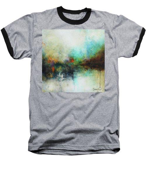Contemporary Abstract Art Painting Baseball T-Shirt
