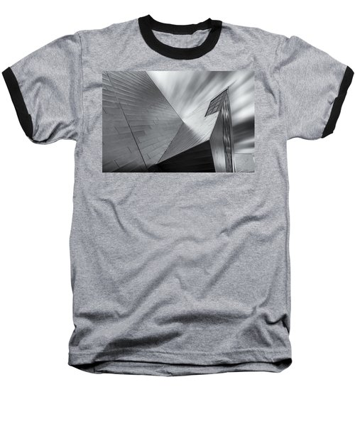 Baseball T-Shirt featuring the photograph Contemporary Architecture Of The Shops At Crystals, Aria, Las Ve by Adam Romanowicz