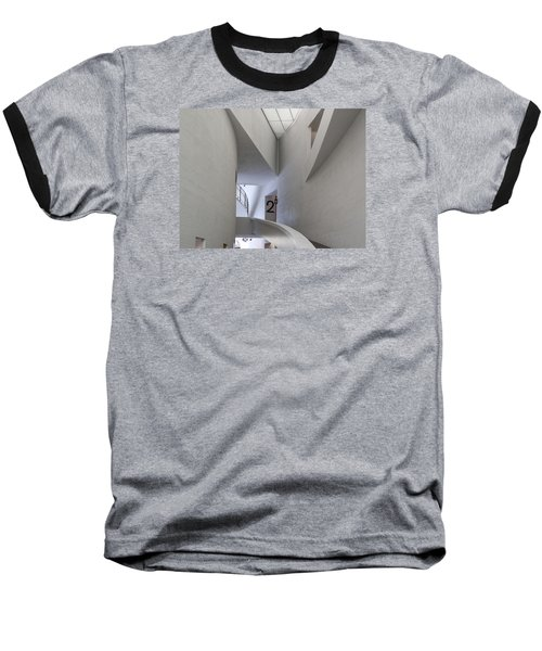 Contemporary Art Museum Interior Baseball T-Shirt