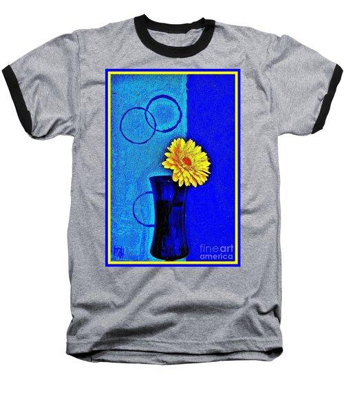 Contemporary Gerber Baseball T-Shirt by Marsha Heiken
