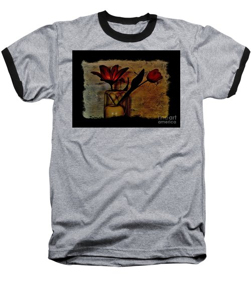 Baseball T-Shirt featuring the photograph Contemporary Still Life by Marsha Heiken