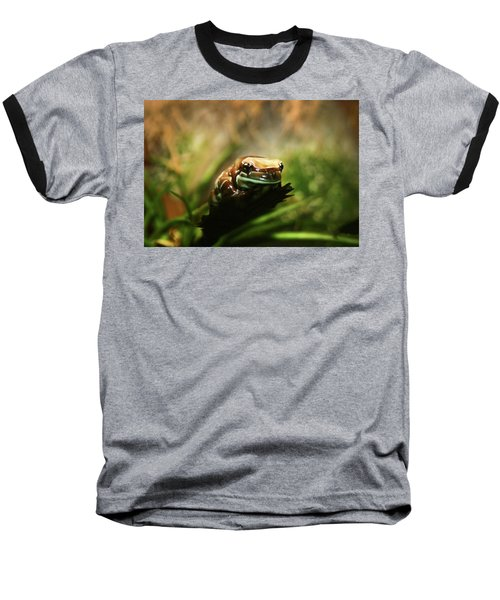 Baseball T-Shirt featuring the photograph Content by Anthony Jones