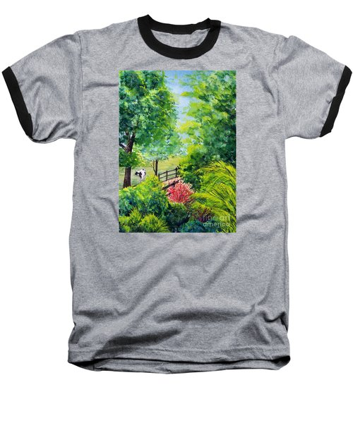 Contentment Baseball T-Shirt