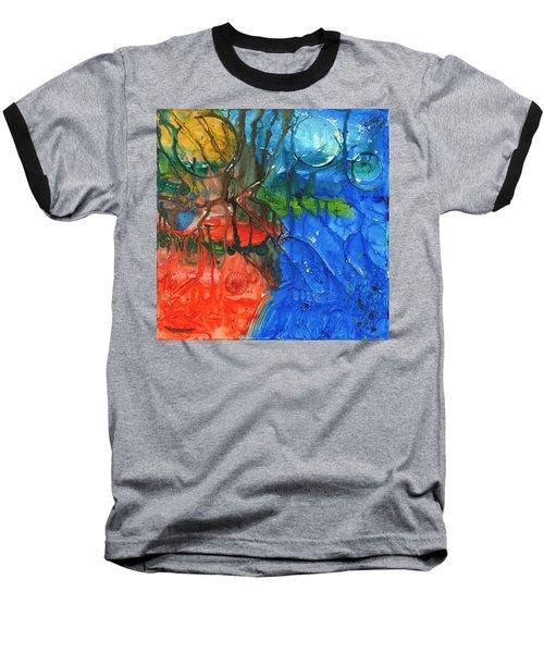 Continental Divide Baseball T-Shirt by Phil Strang