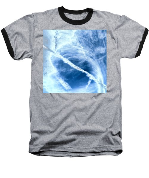 Contrail Concentricities Baseball T-Shirt