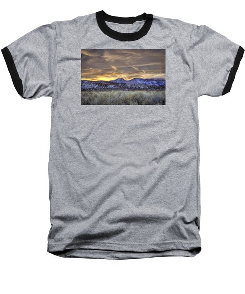 Contrails And Sage Brush Baseball T-Shirt
