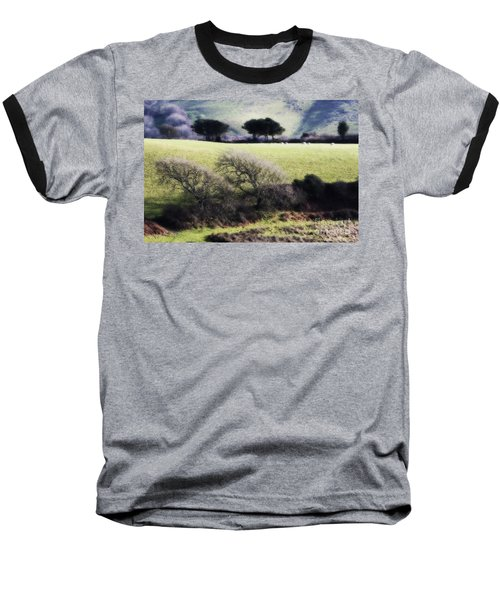 Contrast Of Trees Baseball T-Shirt