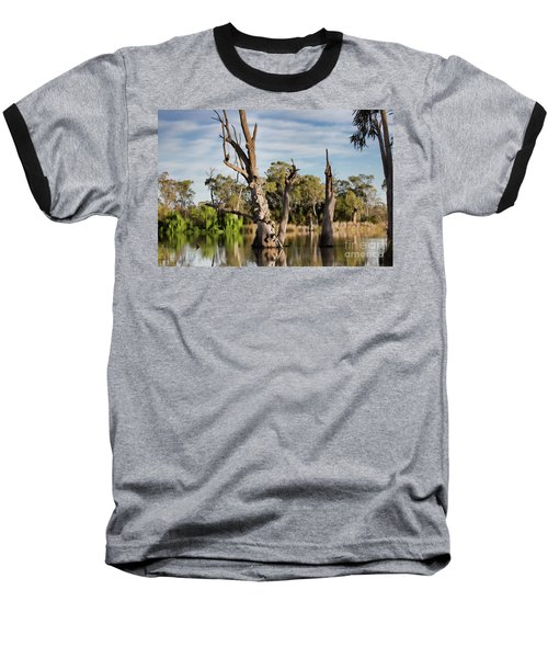 Baseball T-Shirt featuring the photograph Contrasted by Douglas Barnard