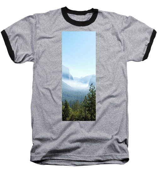 2 Of 4 Controlled Burn Of Yosemite Section Baseball T-Shirt