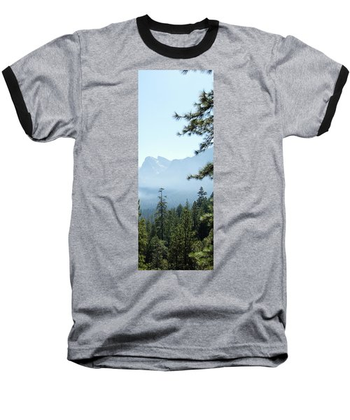3 Of 4 Controlled Burn Of Yosemite Section Baseball T-Shirt