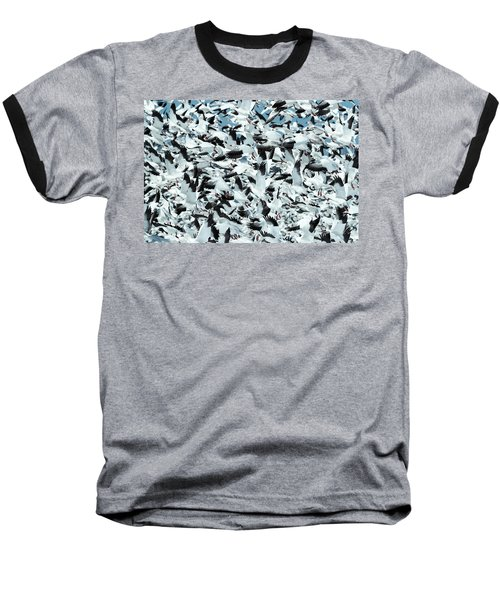 Baseball T-Shirt featuring the photograph Controlled Chaos by Everet Regal