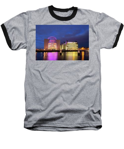 Convention Centre Dublin And Pwc Building In Dublin, Ireland Baseball T-Shirt